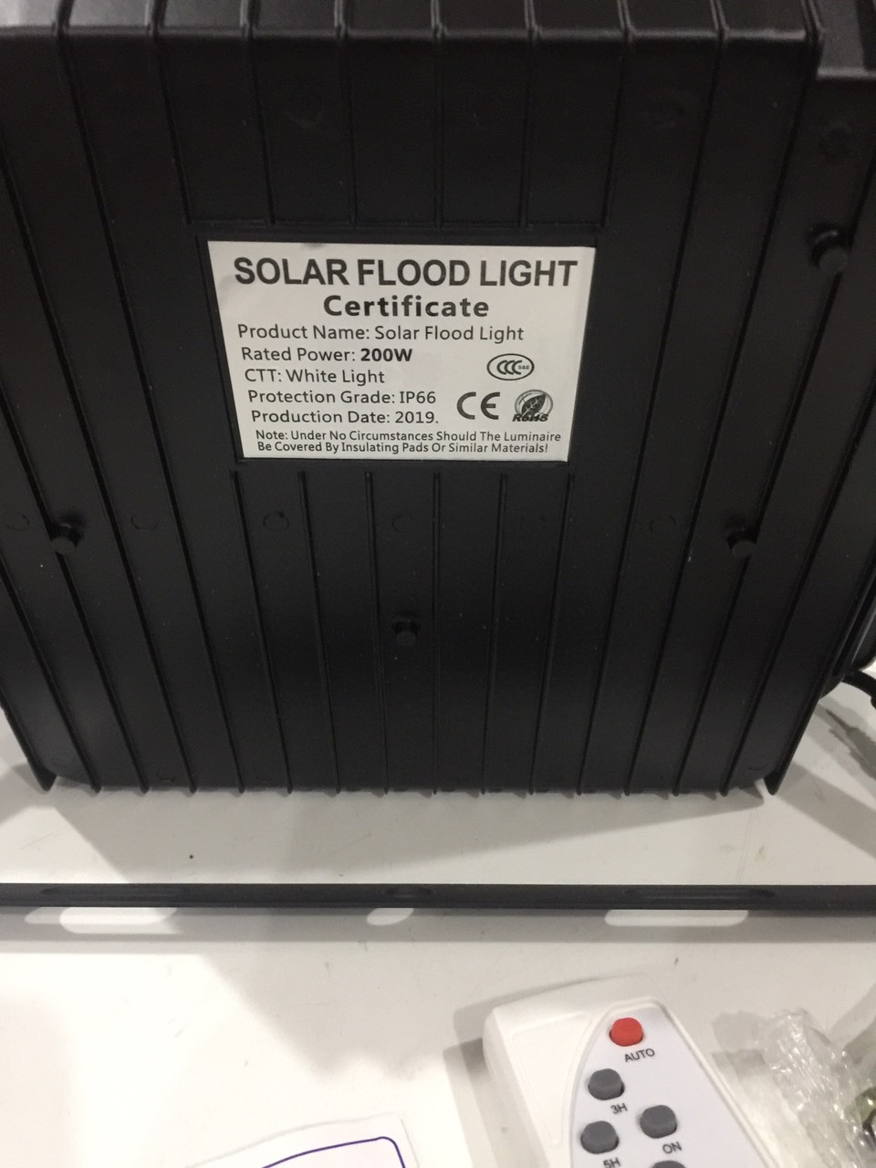 water proof flood light 200w